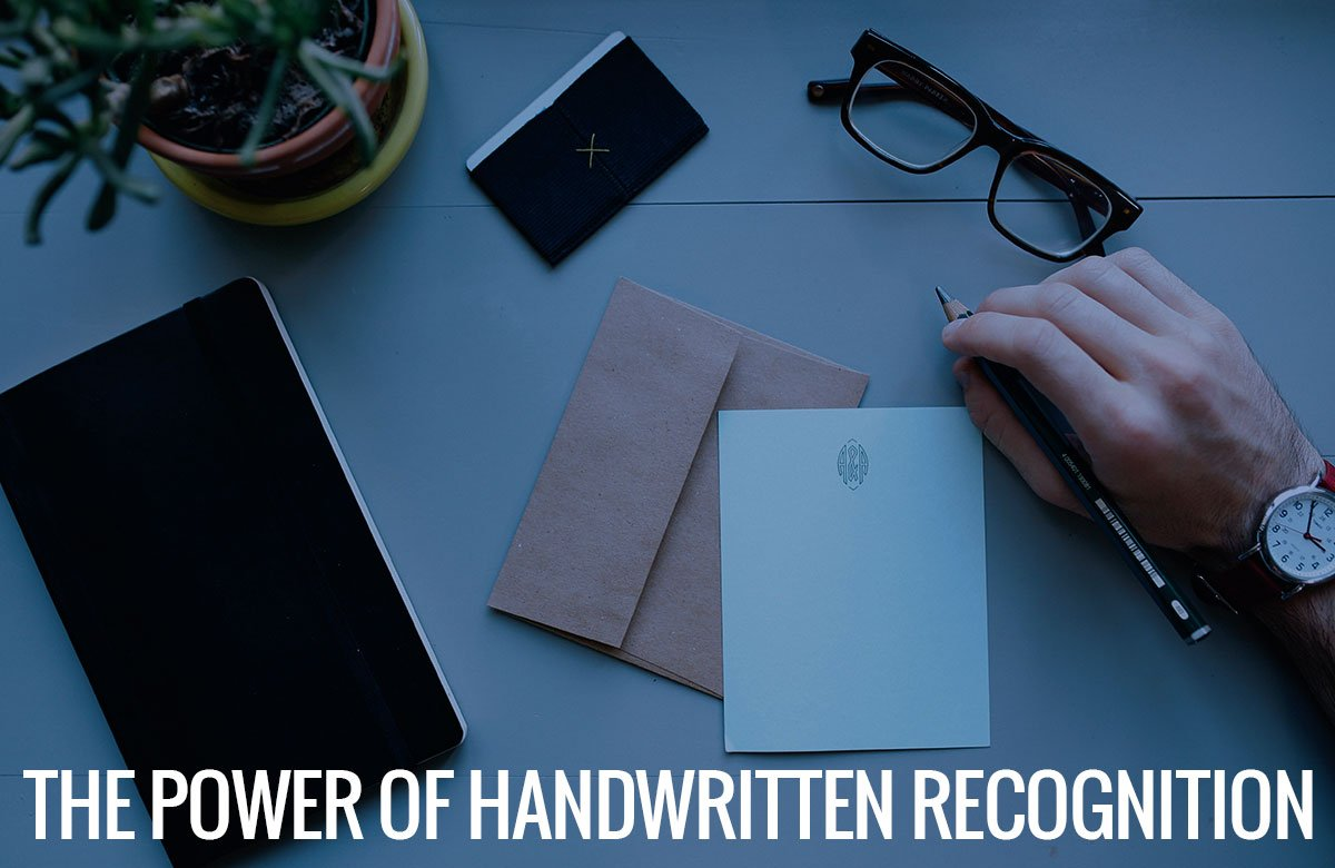 The Power of Handwritten Recognition