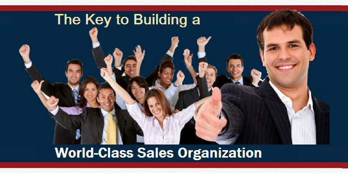 Training Sales Managers to Foster World Class Sales Temas