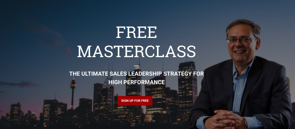 sales leadership masterclass
