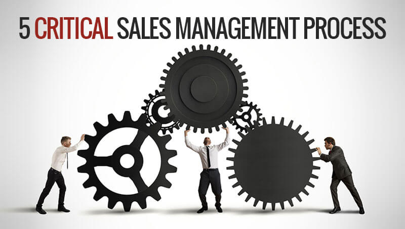 Five critical sales management process