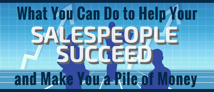 Help salespeople succeed