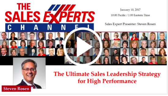 Sign up for a sales management training webinar