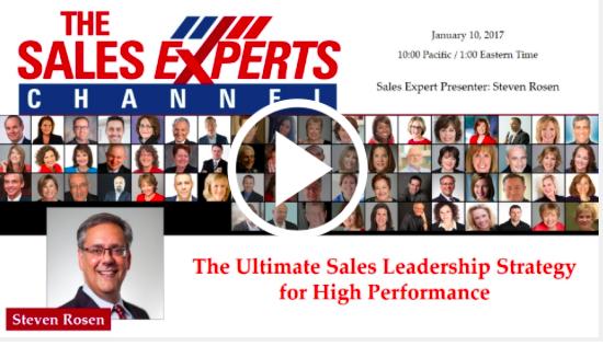 Sign up for a sales management training webinar