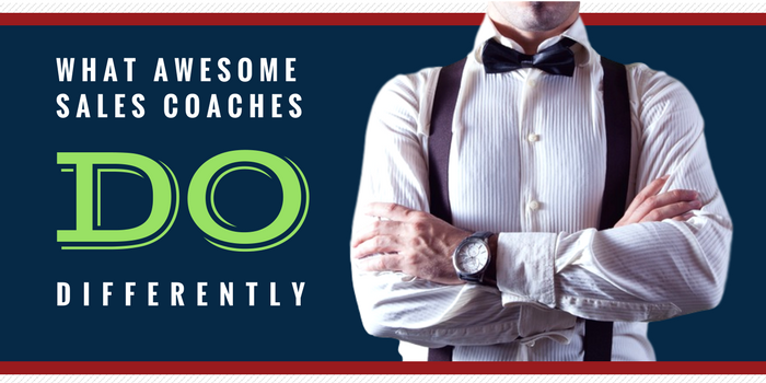 Sales coach with arms crossed