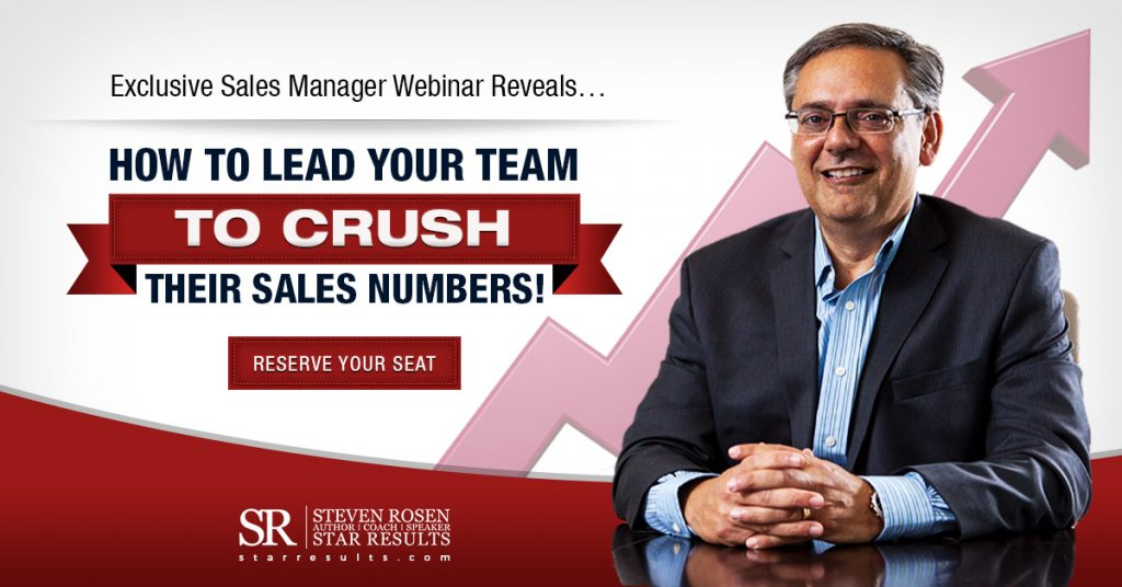 Sales Management Webinar