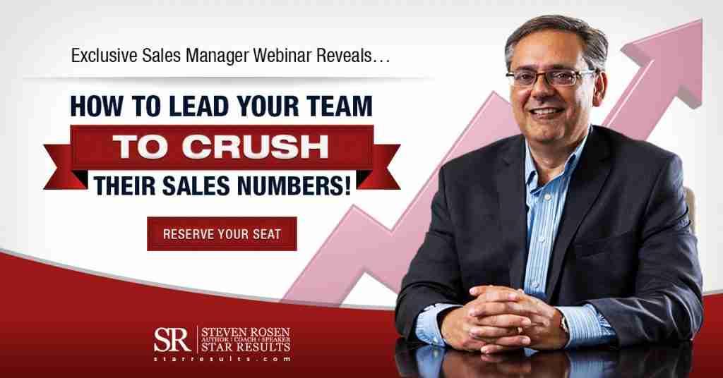Sales Management Webinar