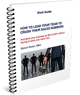 How To Lead Your Team To Crush Their Sales Numbers