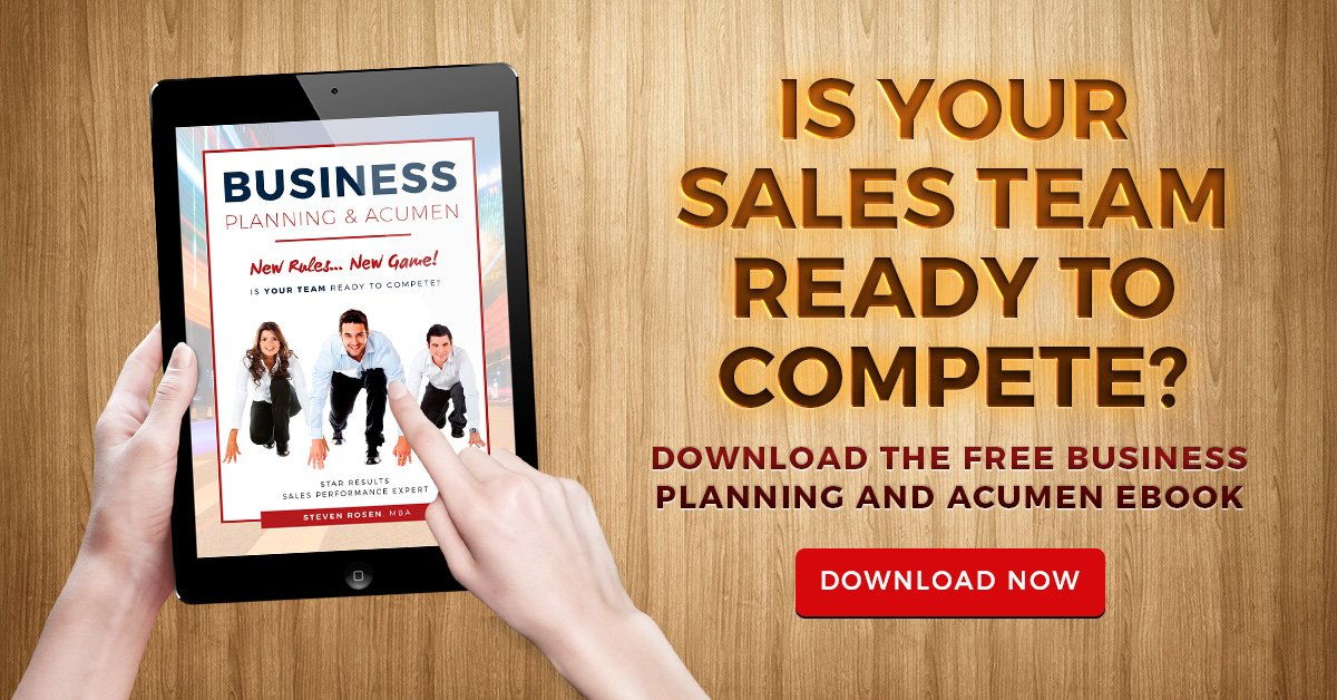 business planning and acumen