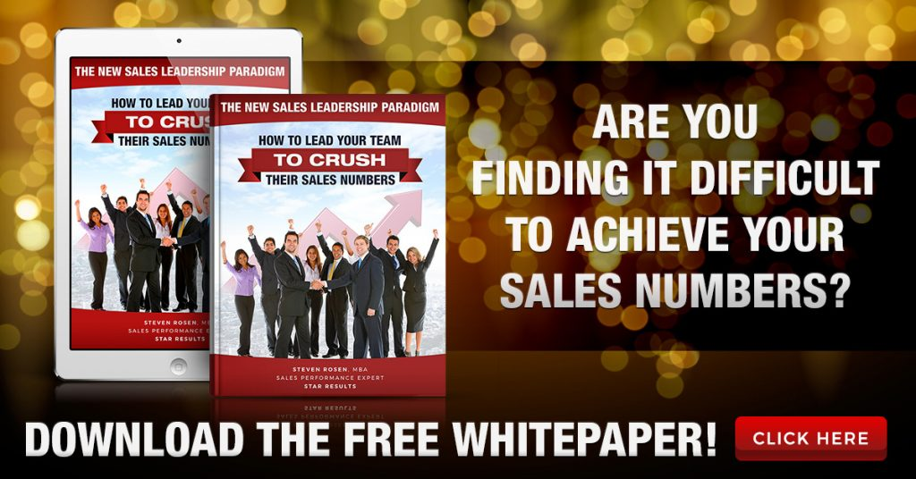 sales leadership white paper
