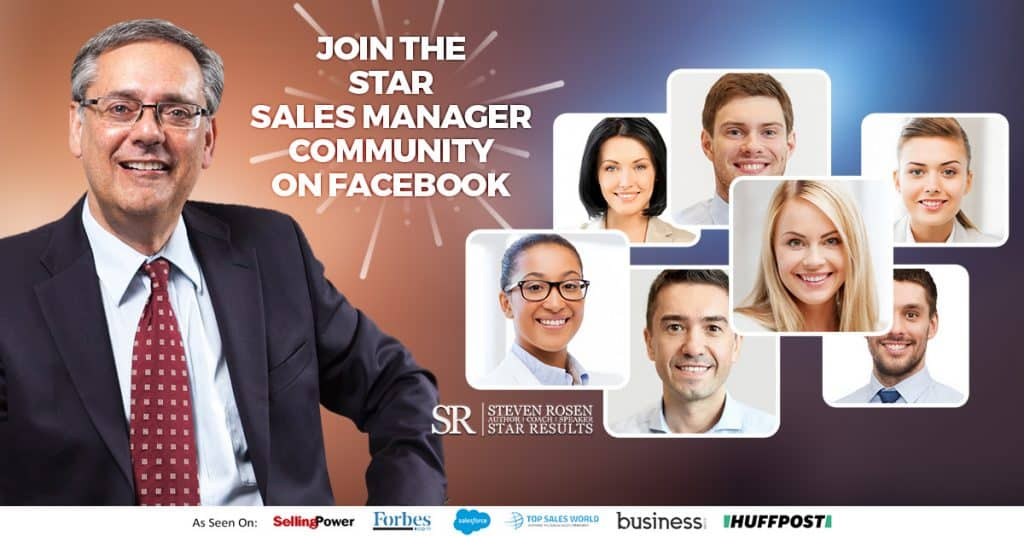 Sales manager community