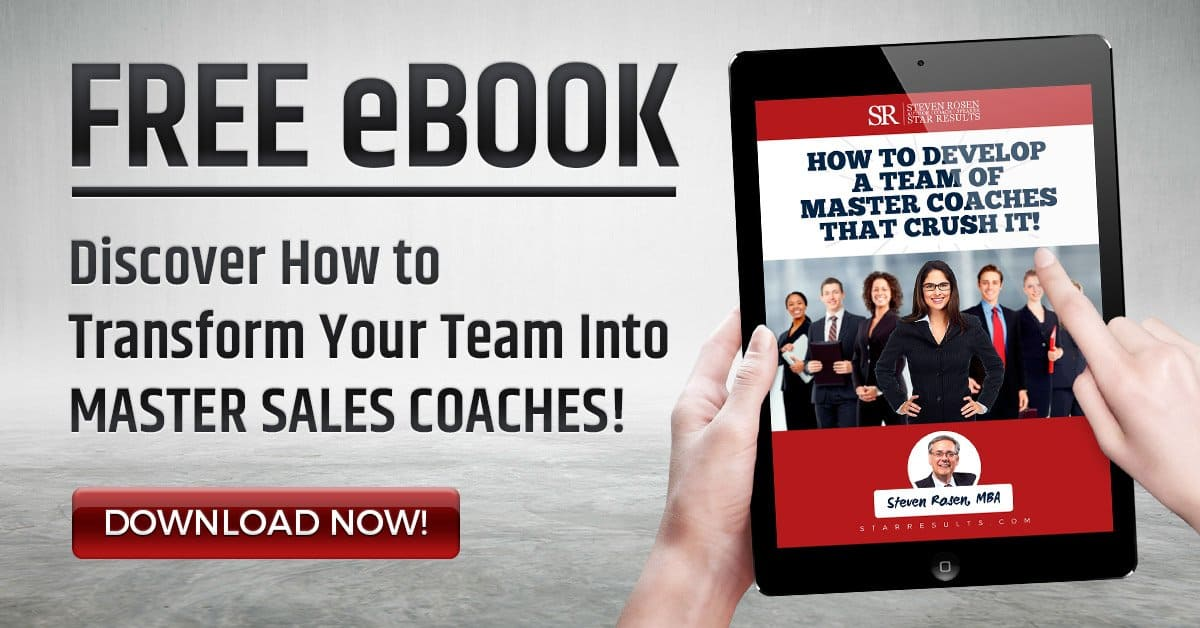 How to Develop Master sales Coaches