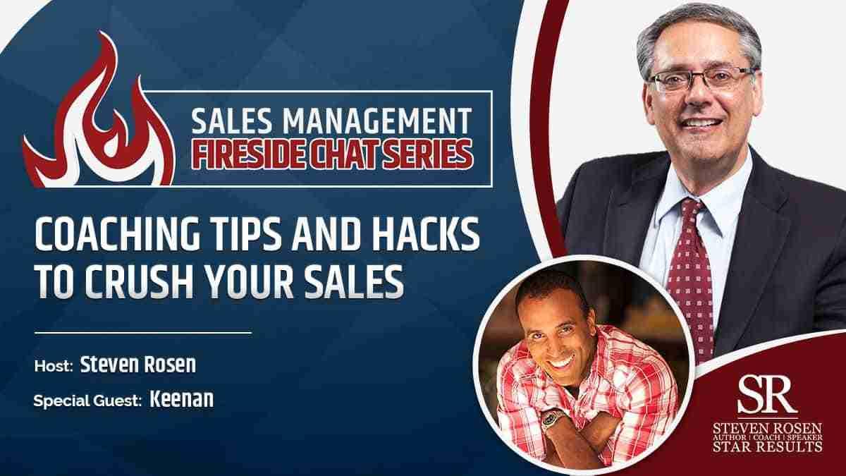 Sales management Fireside chat Keenan