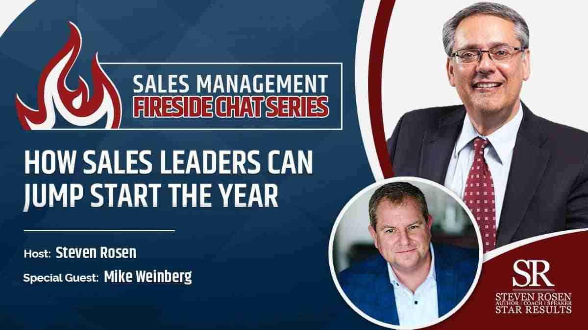Sales management training webinar